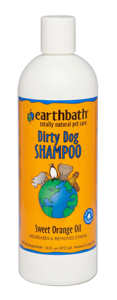 Earthbath Dirty Dog Orange Peel Shampoo 16oz