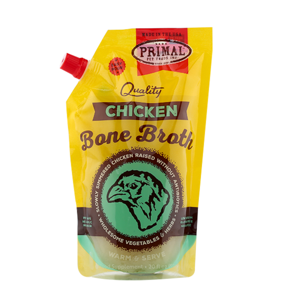Primal Bone Broth Chicken 20oz