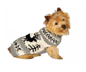 CHILLY DOG SWEATER REINDEER EXTRA-XTRA SMALL