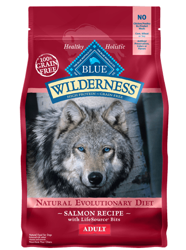 BLUE BUFFALO DOG WILDERNESS SALMON 11LBS