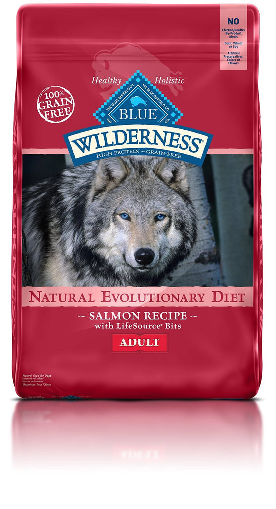 BLUE BUFFALO DOG WILDERNESS SALMON 24LBS