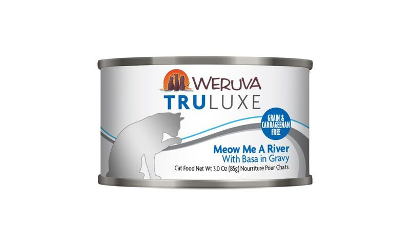 Weruva Tru Luxe Meow Me a River, 3oz Cat Food