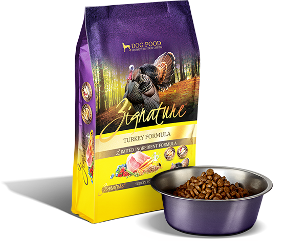 Zignature Dog, Turkey Formula 4lbs