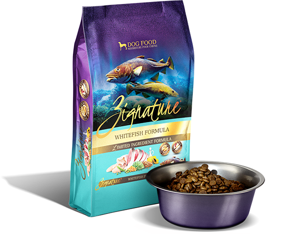 Zignature Dog, Whitefish Formula 13.5lbs