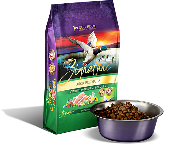 Zignature Dog, Duck Formula 4lbs