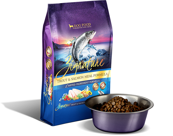 Zignature Dog, Trout & Salmon Formula 4lbs