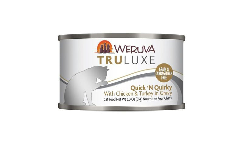 Weruva Tru Luxe Quick 'N Quirky, 3oz Cat Food