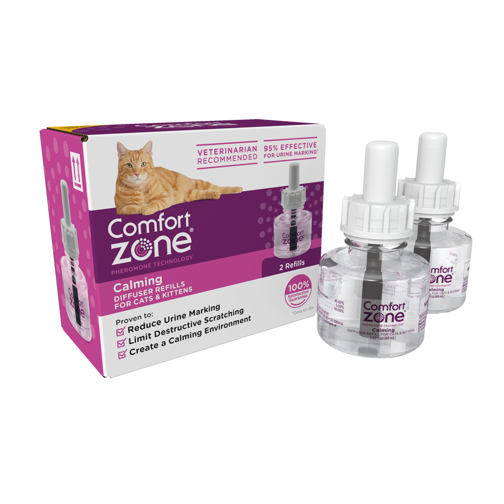 COMFORT ZONE CALMING REFILL DIFFUSER FOR CATS & KITTENS 2-PACK