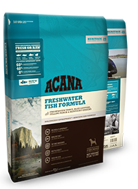 ACANA DOG FRESH WATER FISH 4.5LBS