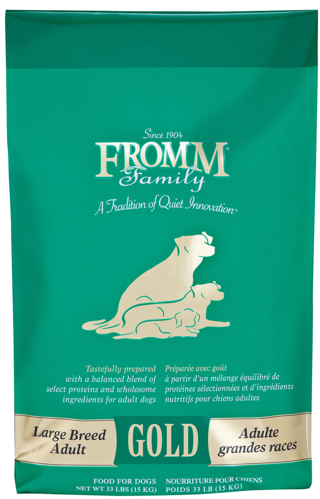 Fromm Gold Large Breed Adult, Dog Food, 33lbs