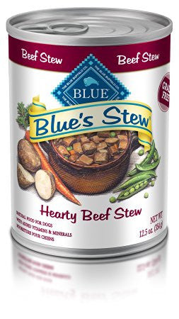 BLUE BUFFALO DOG HEARTY BEEF STEW 12.5OZ