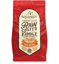 STELLA & CHEWY'S RAW COATED BEEF, DOG RECIPE, 22LBS