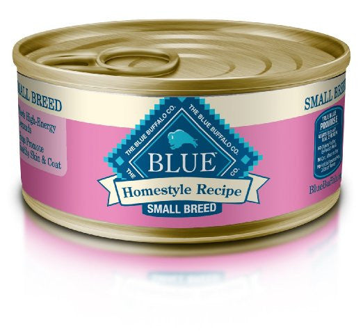 BLUE BUFFALO DOG HOMESTYLE RECIPE SMALL BREED CHICKEN DINNER 5.5OZ