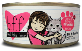 B.F.F. Cat Tuna & Bonito Be Mine Recipe (in Aspic) 5.5oz