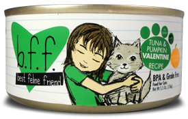 B.F.F. Cat Tuna & Pumpkin Valentine Recipe (in Gravy) 3oz