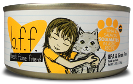 B.F.F. Cat Tuna & Salmon Soulmates Recipe (in Aspic) 10oz