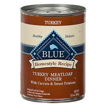 BLUE BUFFALO DOG HOMESTYLE RECIPE TURKEY MEATLOAF DINNER 12.5OZ