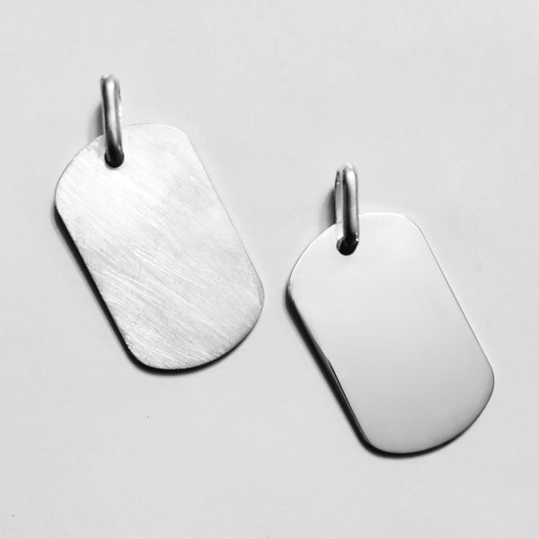 Dog Tag Finish Options | Ladi Lyke