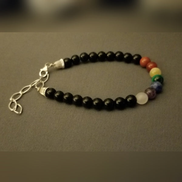 All Natural Chakra Healing Gemstone Bracelet