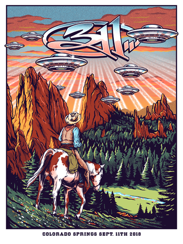 311 Colorado Springs Poster