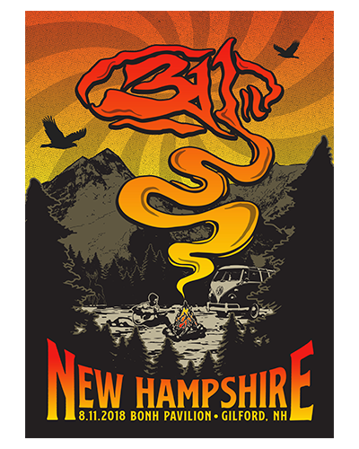 311 - New Hampshire Poster