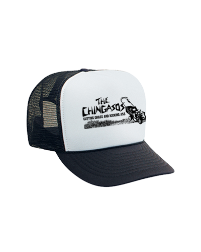 The Chingasos - Cutting Grass and Kickin Ass Hat (Black)