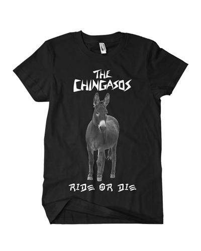 The Chingasos - Born to Ride Tee