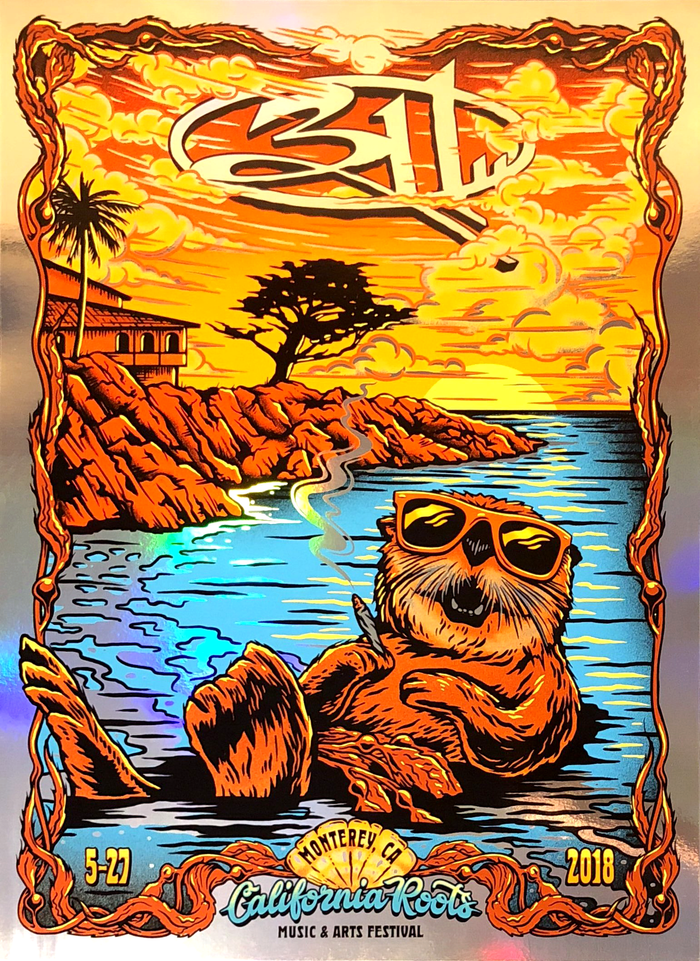 311 Cali Roots Poster - FOIL