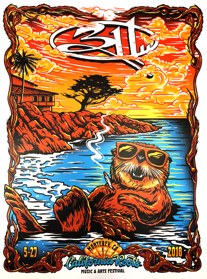 311 Cali Roots Poster