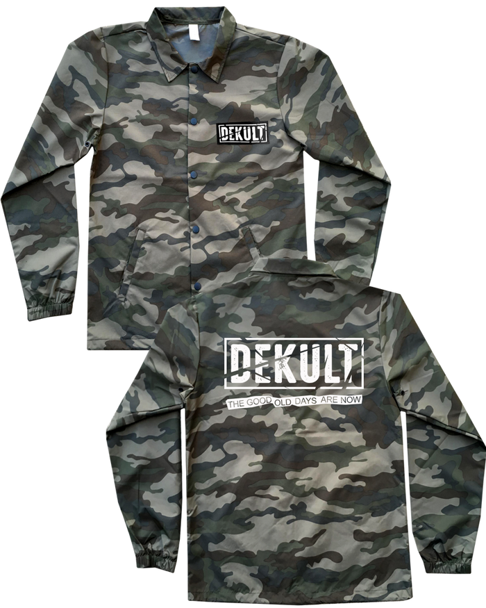 DEKULT - GOOD OL' DAYS CAMO WINDBREAKER