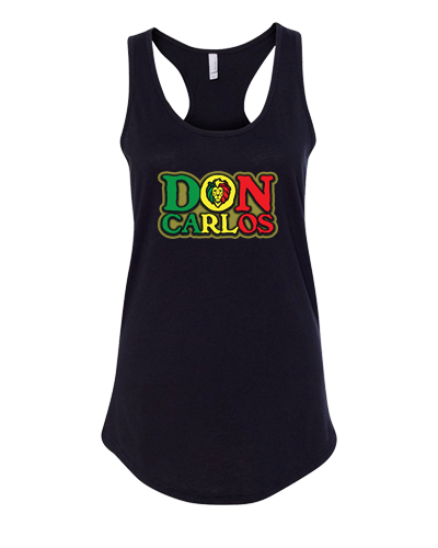 Don Carlos Womens Rasta Lion Tank