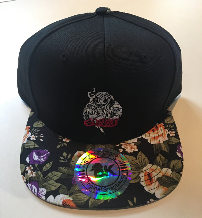 Gonzo Floral Snapback