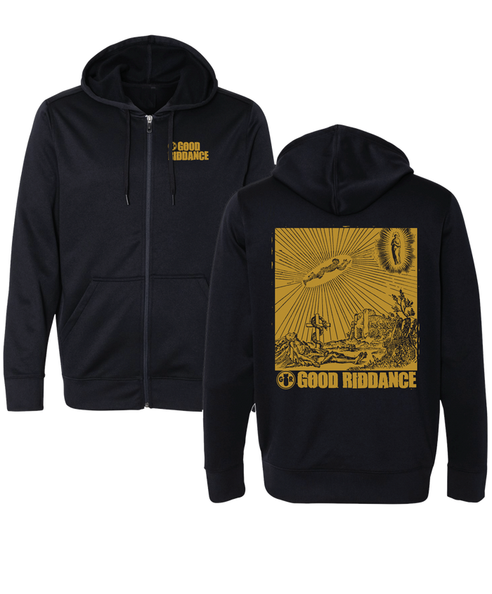 Thoughts and Prayers Zip Hoodie