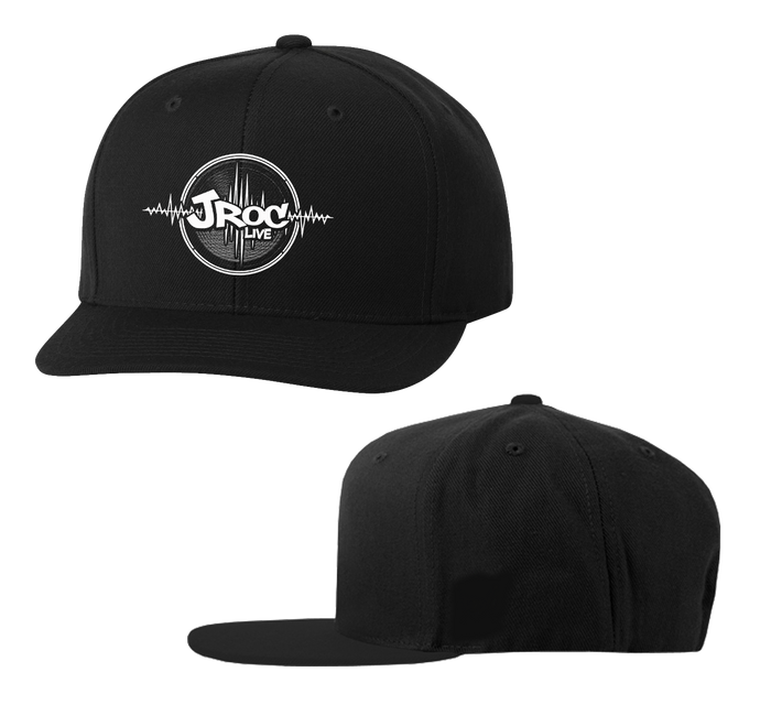 JROC LIVE BLACK AND WHITE Snapback