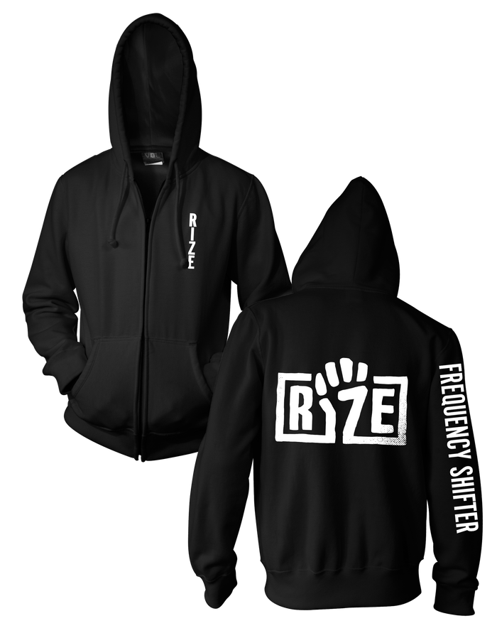 RIZE FREQUENCY SHIFTER ZIP HOODIE (UNISEX)