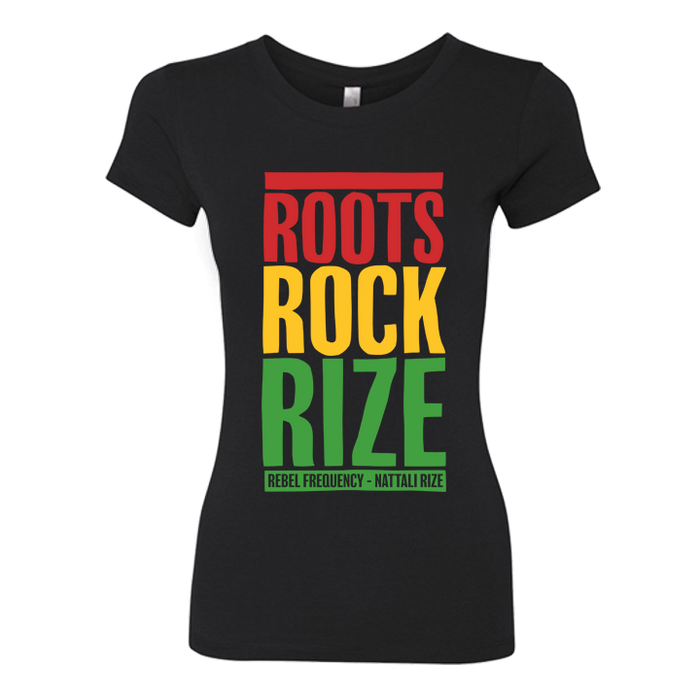 WOMENS ROOTS ROCK RIZE T-SHIRT