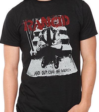 Rancid - Wolves Tee March 2015