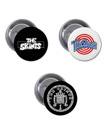 The Skints - Pin Pack