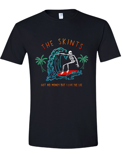 The Skints - Surfing Skeleton Tee