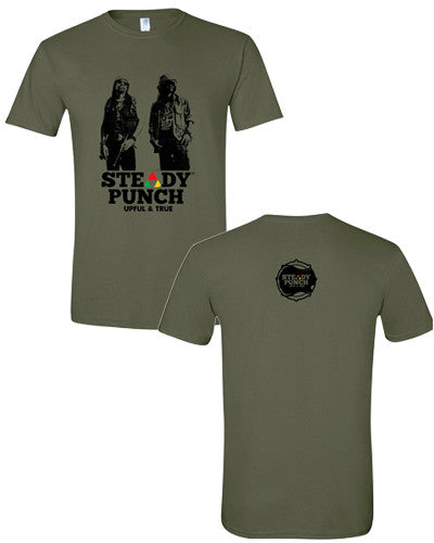 Steady Punch Picture Logo (Military Green)