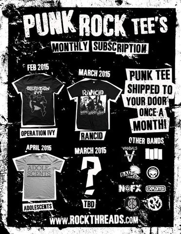 Punk Tee - Society Membership