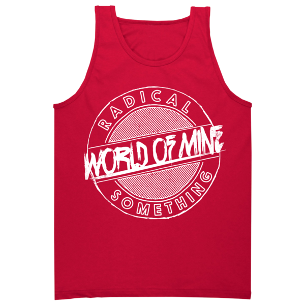 "Radical Something ""World Of Mine"" Red Tank"