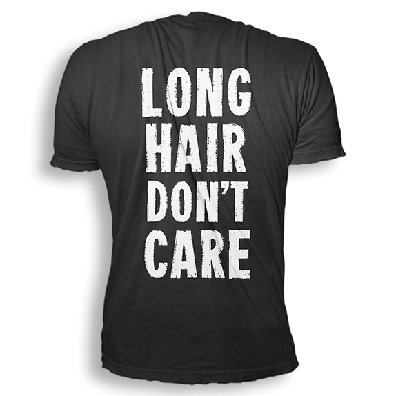 "Radical Something ""Long Hair Don't Care Tee"""
