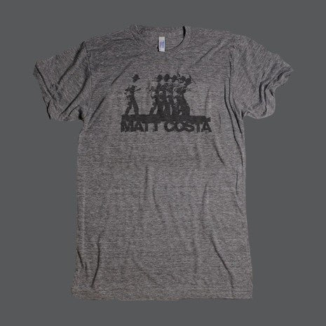 Miner Men's Tee - Heather Grey