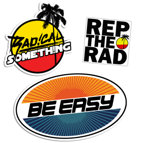 Radical Something Sticker Pack