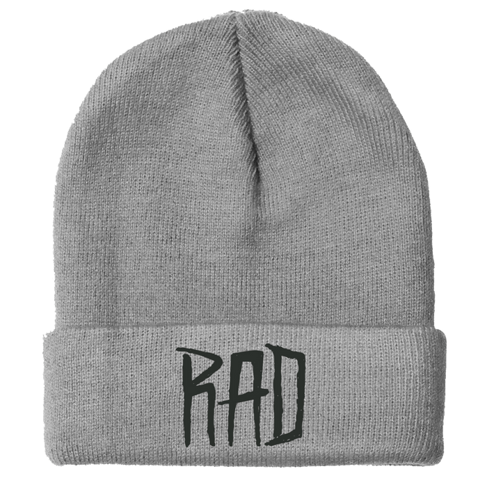 Radical Something Grey Rad Beanie
