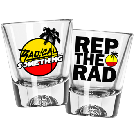 Radical Something Shot Glass (Pair)