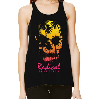 Radical Something Skull Palm Tank
