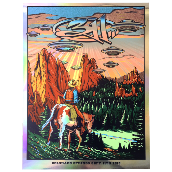 311 Colorado Springs Poster - FOIL