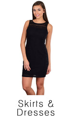 Womens - Dresses & Skirts